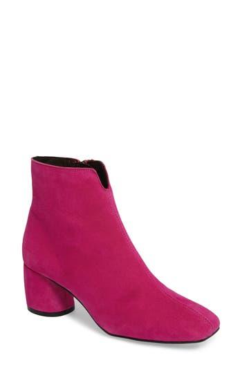 Topshop Marilo Block Heel Bootie - Pink