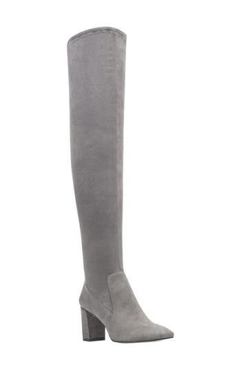 Nine West Xperian Over The Knee Boot, Grey