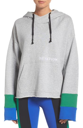 P.e Nation The Distance Hoodie, Grey