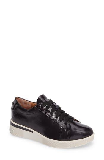 Gentle Souls Haddie Low Platform Sneaker- Black