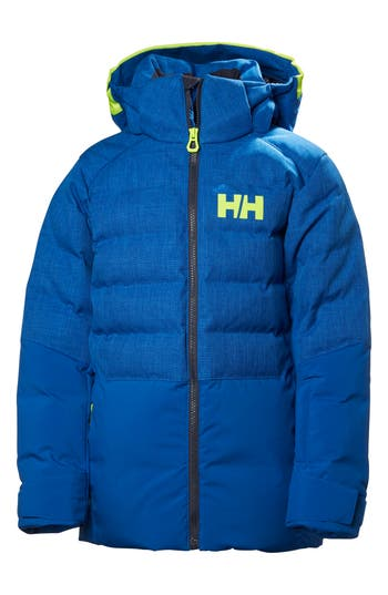 Boys Helly Hansen Jr. North Waterproof  Windproof 480Fill Power Down Jacket