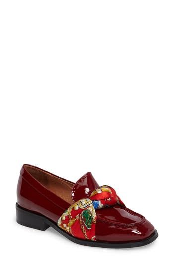 Jeffrey Campbell Bollero Loafer, Red