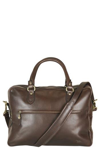 Rodd & Gunn The Viaduct Leather Briefcase - Brown