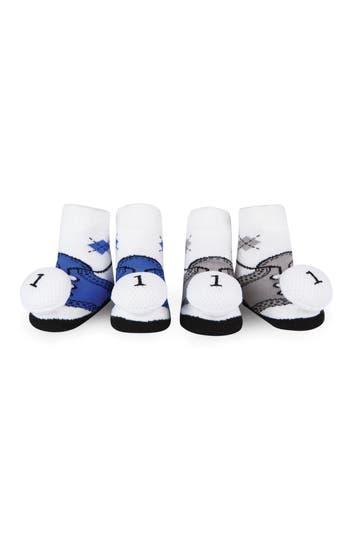 Infant Waddle  Friends 2Pack Golf Rattle Socks