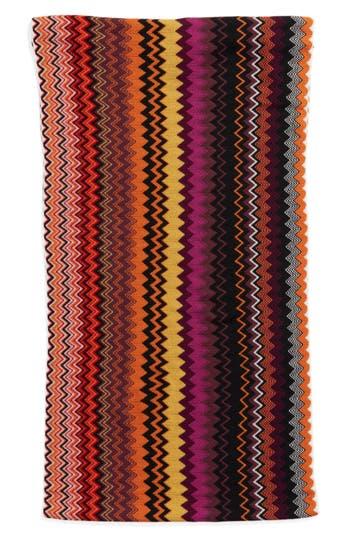 Women's Missoni Knit Infinity Scarf, Size One Size - Purple