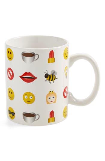 American Atelier Emoji Mug, Size One Size - White