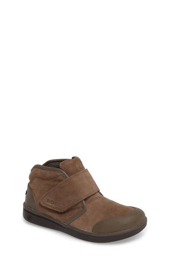Boys Bogs Sammy Waterproof Sneaker Size 2 M  Brown