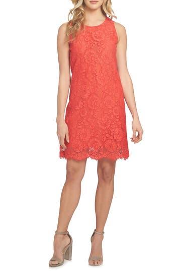 Cece Arlington A-Line Dress, Red
