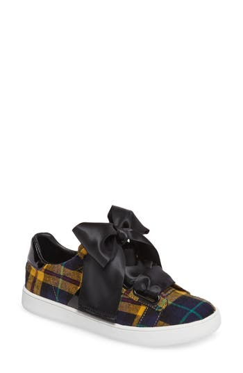 Jeffrey Campbell Pabst Low-Top Sneaker, Yellow