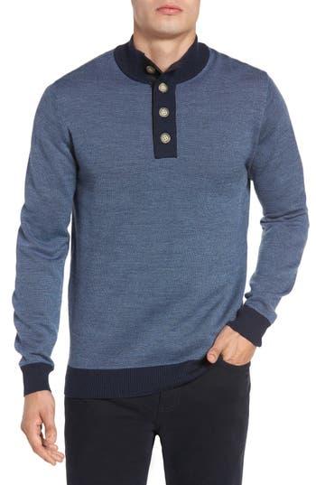 Rodd & Gunn Constellation Drive Wool Sweater, Blue