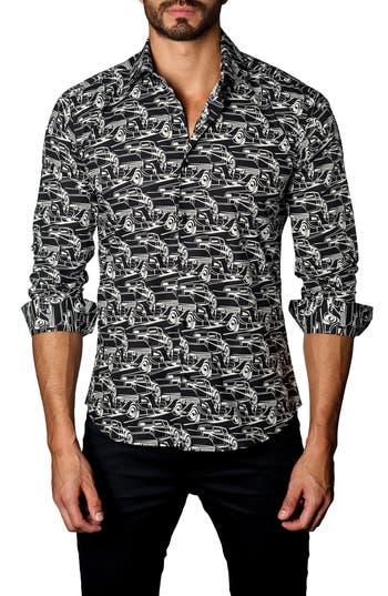 Men's Jared Lang Trim Fit Sedans Sport Shirt