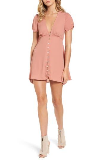 Show Me Your Mumu Robyn Babydoll Dress, Pink