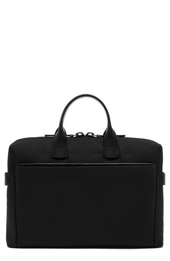Troubadour Nylon Briefcase - Black