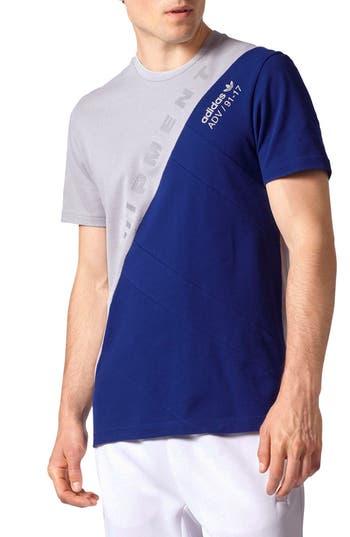 Adidas Originals Equipment Rose City T-Shirt, Blue