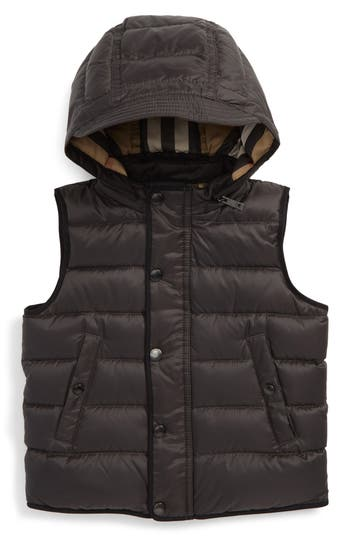 Toddler Boys Burberry Mini Carlton Quilted Down Vest