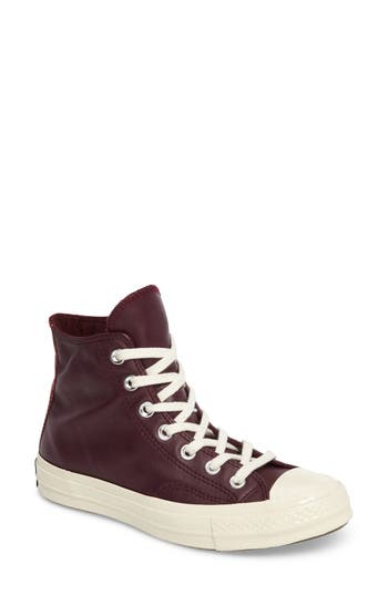 Converse Chuck Taylor All Star 70 High Top Sneaker, Burgundy