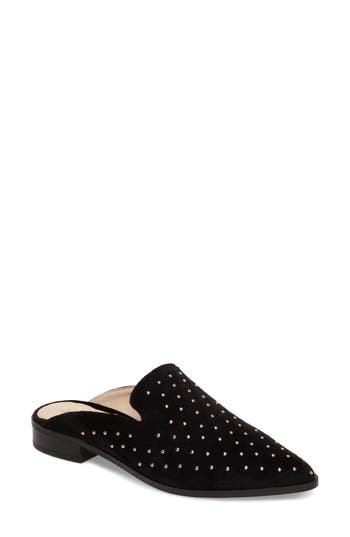 Shellys London Fantasia Loafer Mule Black