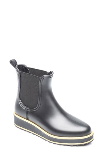 Bernardo Footwear Wila Rain Boot, Black