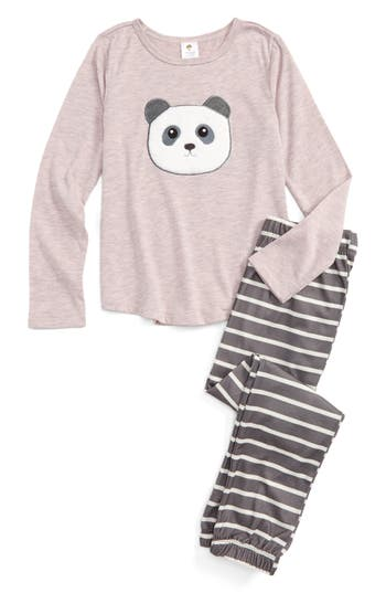 Toddler Girl's Tucker + Tate Appliqué Fitted Two-Piece Pajamas