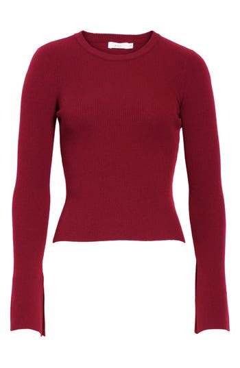 A.l.c. Lewis Merino Wool Blend Sweater, Red