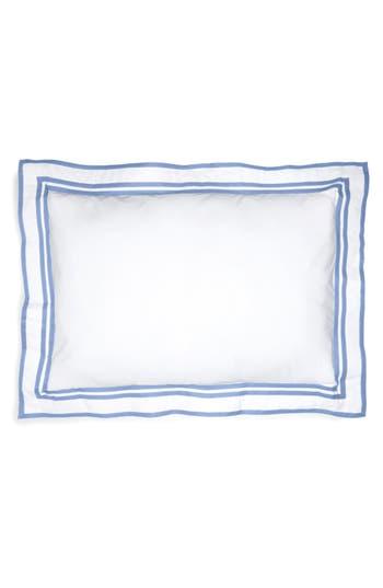 Matouk Meridian 350 Thread Count Sham, Size King - Blue