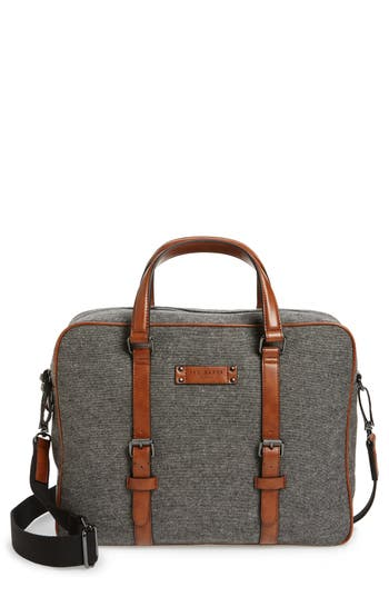 Ted Baker London Digger Wool Briefcase - Grey
