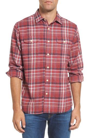 Men's Grayers Milbrook Modern Fit Lux Flannel Sport Shirt