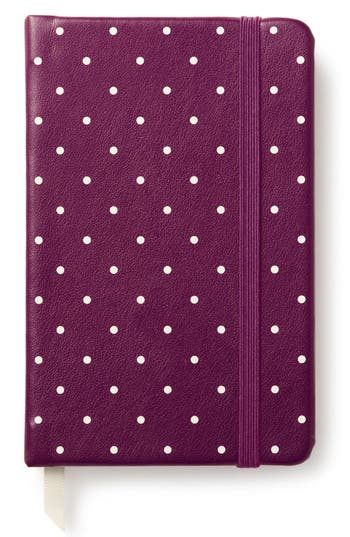 Kate Spade New York Take Note Polka Dot Notebook - Purple