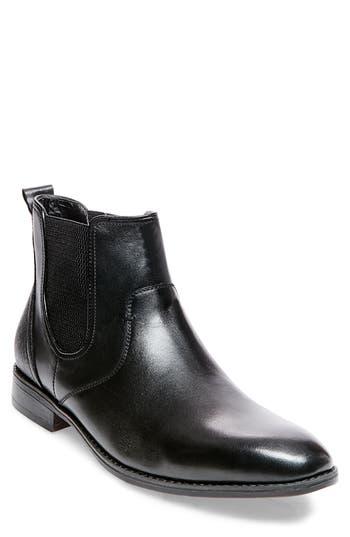 Steve Madden Lobert Chelsea Boot, Black