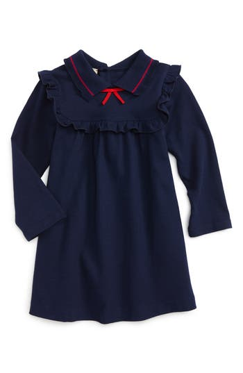 Infant Girl's Gucci Ruffle Yoke Dress