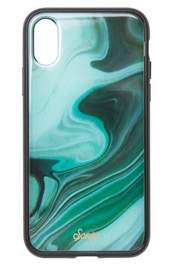 Sonix Jade Print Iphone X Case - Green