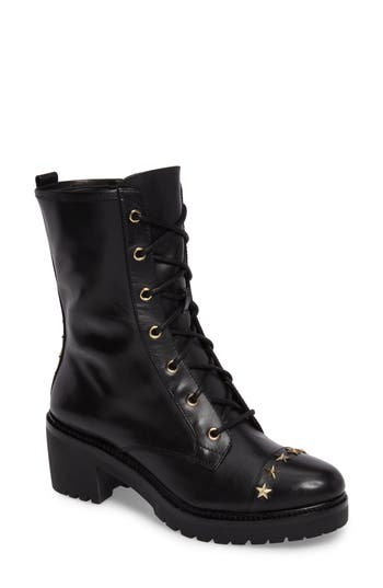 Michael Michael Kors Cody Combat Boot, Black
