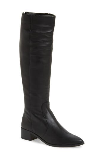 Dolce Vita Morey Knee High Riding Boot, Black