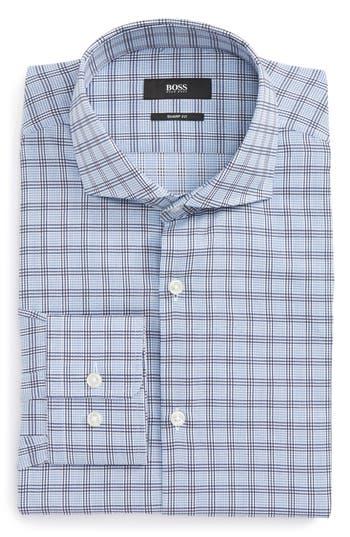 Men's Boss Mark Sharp Fit Check Dress Shirt