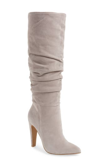 Steve Madden Carrie Slouchy Boot, Grey