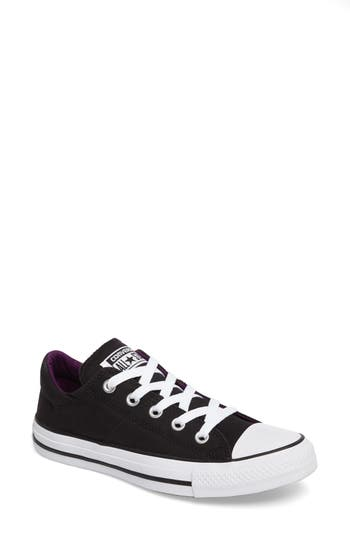Converse Chuck Taylor All Star Madison Low Top Sneaker, Black