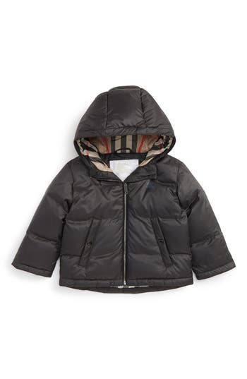 Toddler Boy's Burberry Rio Down Filled Puffer Jacket