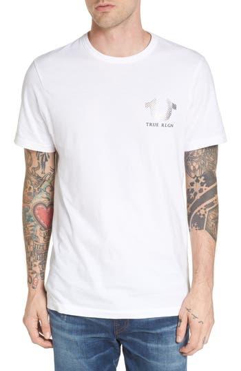 True Religion Brand Jeans Logo Graphic T-Shirt, White