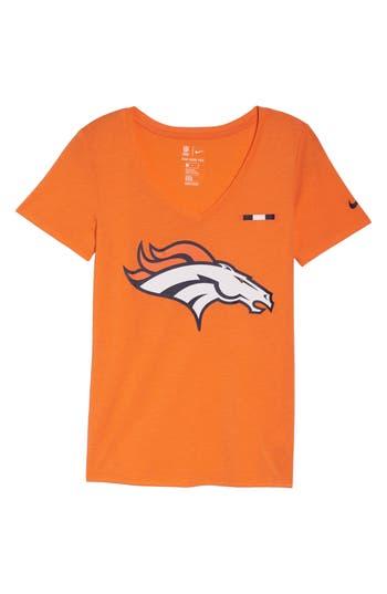 Nike Nfl Logo Tee, Orange