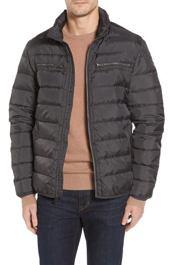 Cole Haan Packable Down Jacket, Grey