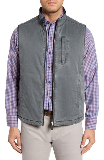 Tommy Bahama Sea Glass Reversible Vest, Blue