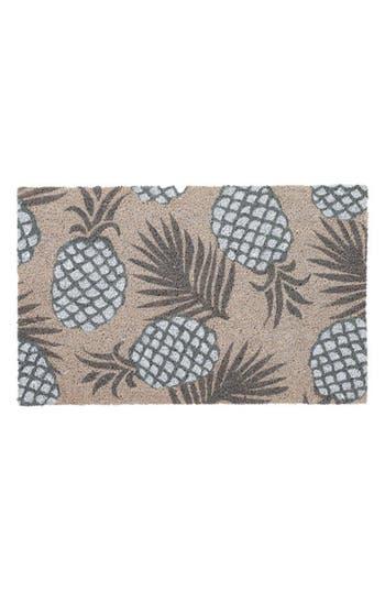 Bovi Pineapple Door Mat, Size One Size - Grey