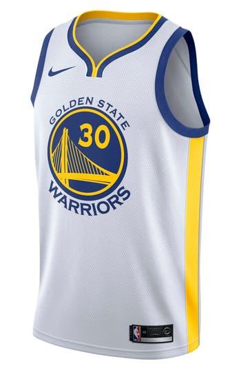 Nike Golden State Warriors Nike Association Edition Swingman Nba Jersey, White
