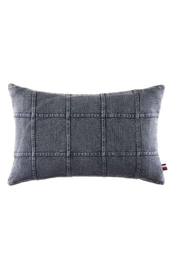 Tommy Hilfiger Dusted Indigo Denim Accent Pillow, Size One Size - Blue
