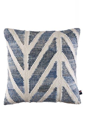 Tommy Hilfiger Indigo Chevron Accent Pillow, Size One Size - Blue