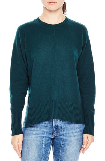 Sandro Gilda Wool & Cashmere Sweater, Green