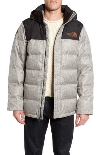 The North Face Nuptse Ridge Down Jacket, Grey