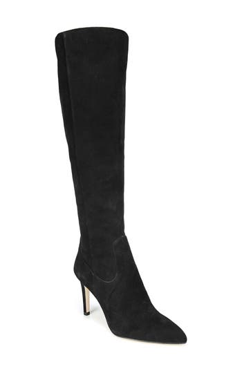 Sam Edelman Olencia Knee High Boot- Black