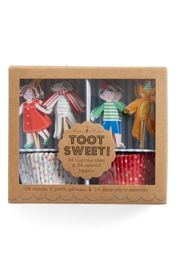 Pack of 96 Toot Sweet Mini Cupcake Cases