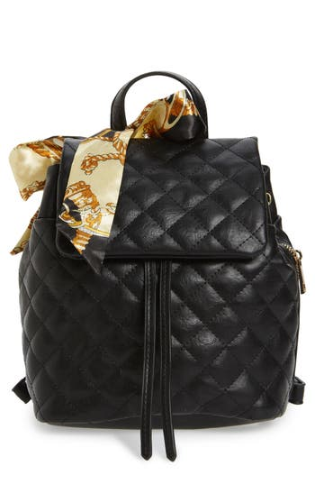 Bp. Quilted Faux Leather Backpack - Black